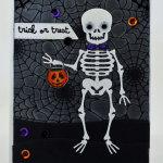 Trick or Treat Halloween Card (and Process Video)