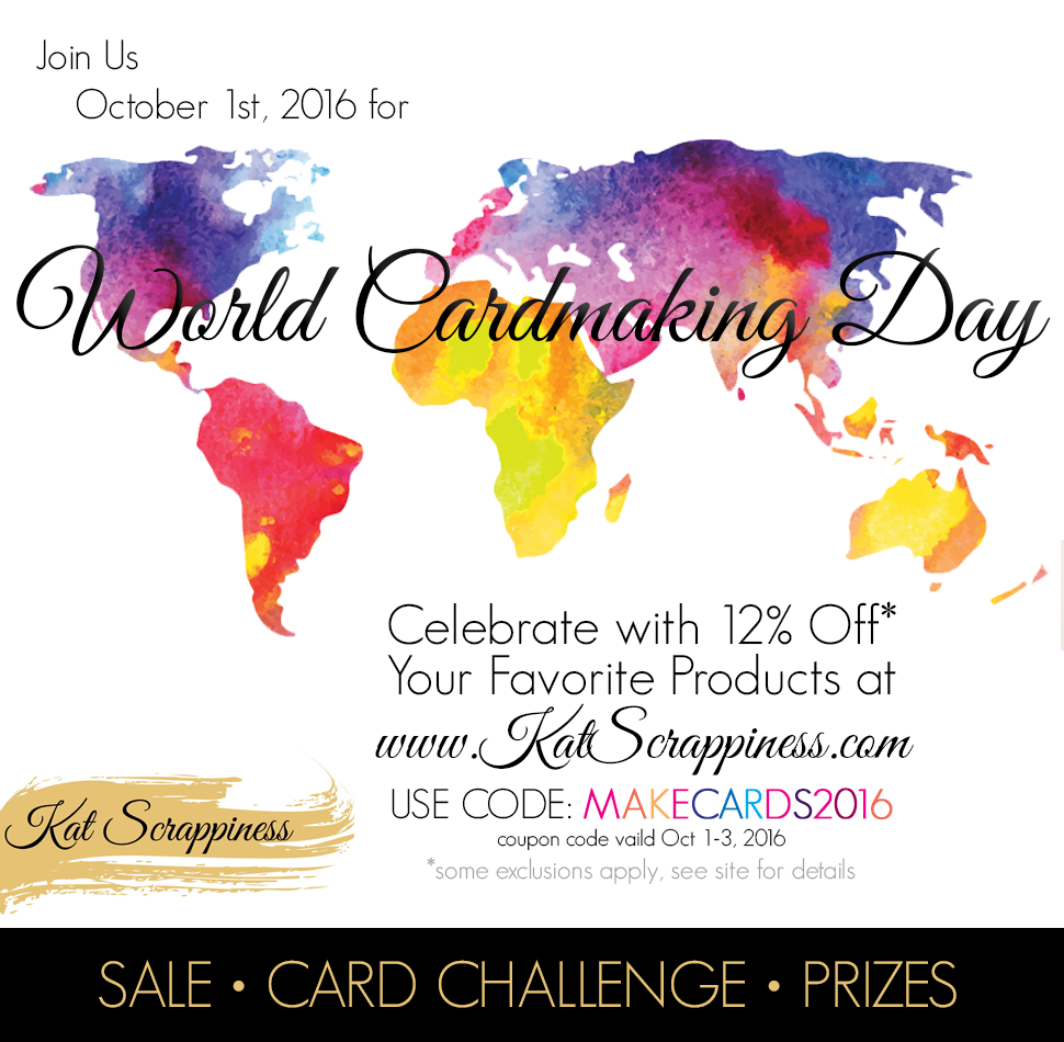 World Card Making Day Sale and Challenge