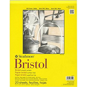 Bristol Smooth Watercolor Paper