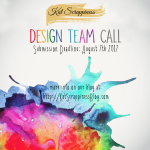 Crafty Design Team Call at Kat Scrappiness!