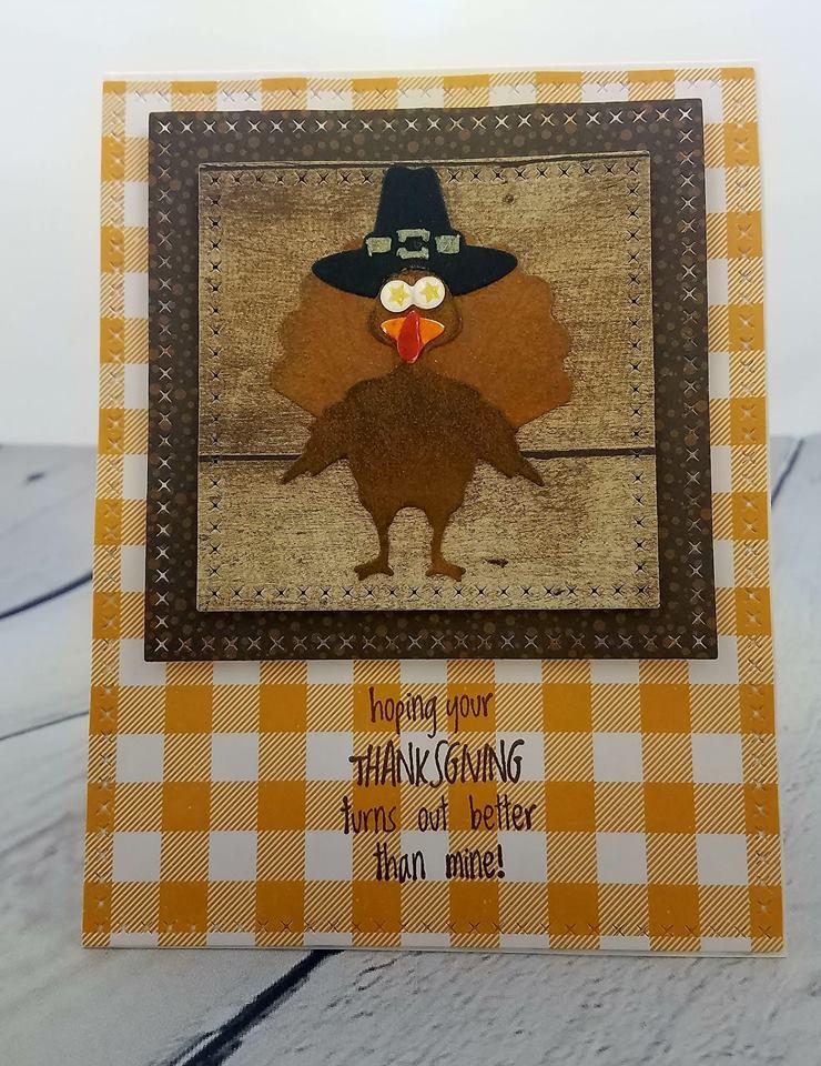 Kathleen Driggers Thanksgiving Card