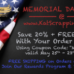 Memorial Day Crafty Sales!