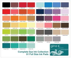 Gina K Dye Ink Pads