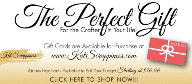 Kat Scrappiness Gift Card