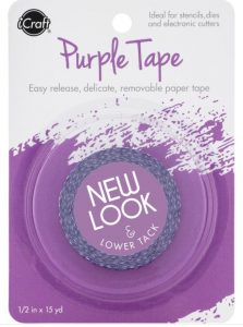 purple tape for die cutting