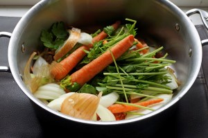 scraps and a few carrots