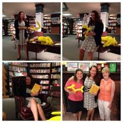 Book event in Ann Arbor