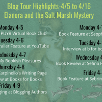 Blog Tour Stops for Elanora and the Salt Marsh Mystery with 2 Giveaways!