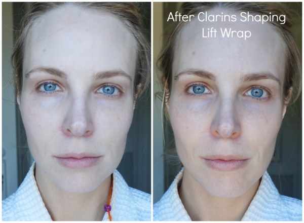Clarins Shaping Facial Lift Wrap Review BeautyNow Blog