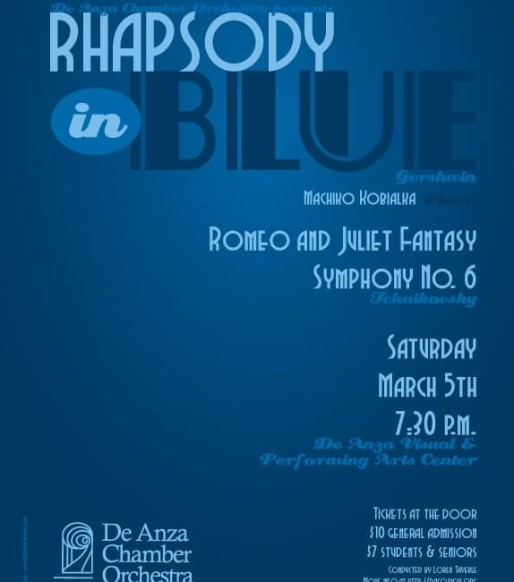 De Anza Chamber Orchestra Concert - Rhapsody in Blue