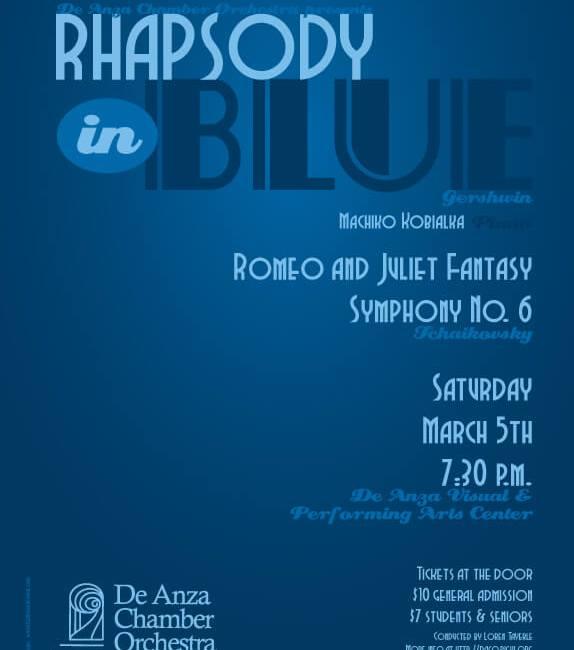 De Anza Chamber Orchestra Concert - Rhapsody in Blue