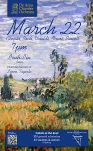 De Anza Chamber Orchestra Concert - Spring