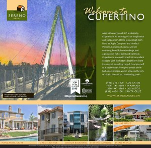 Sereno Group Property Ad, Los Altos Town Crier - feature Cupertino