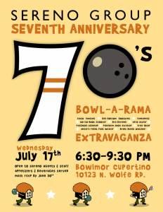 Sereno Group Retro Bowling Night