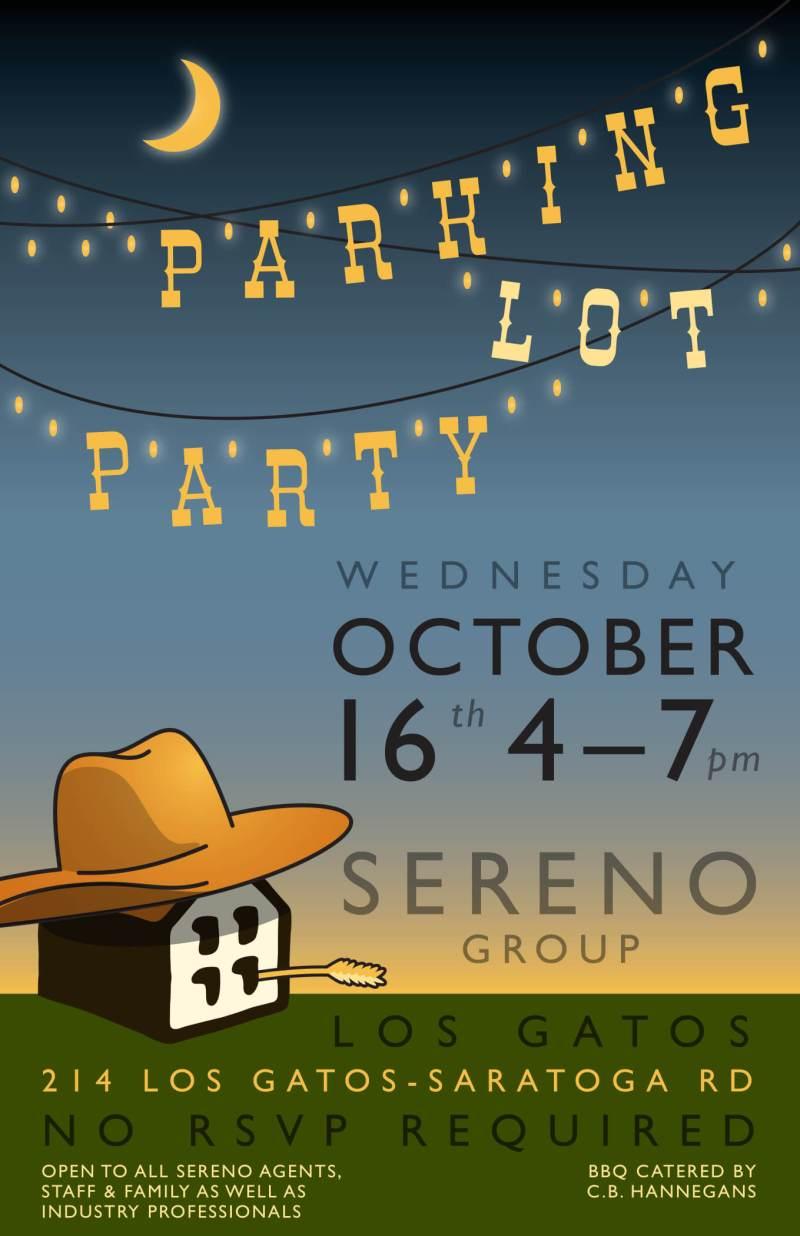 Sereno Group Parking Lot Party