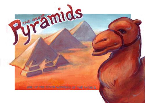 Seven Wonders Pyramids