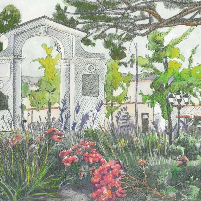 Memorial Arch, Saratoga
