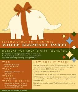 White Elephant Party 2013