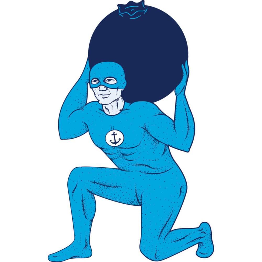 Health-Ade kombucha Acai Berry Superhero