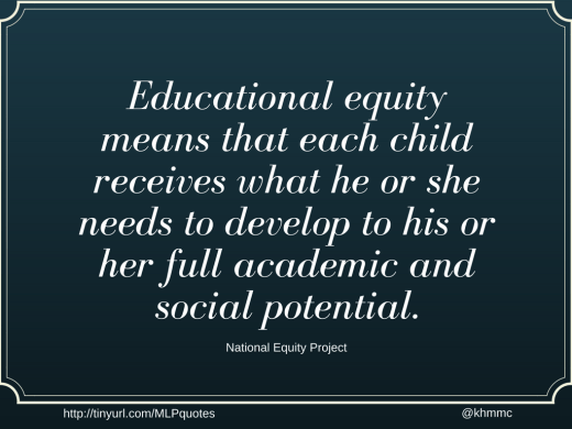 educational equity defined