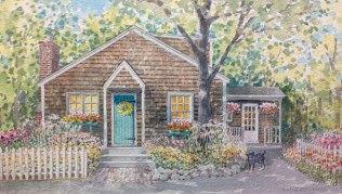 shingled-house-green-door