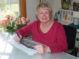 Kathleen Nelson in Studio