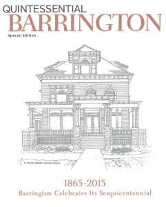 Barrington White House illustration by Kathleen Nelson.