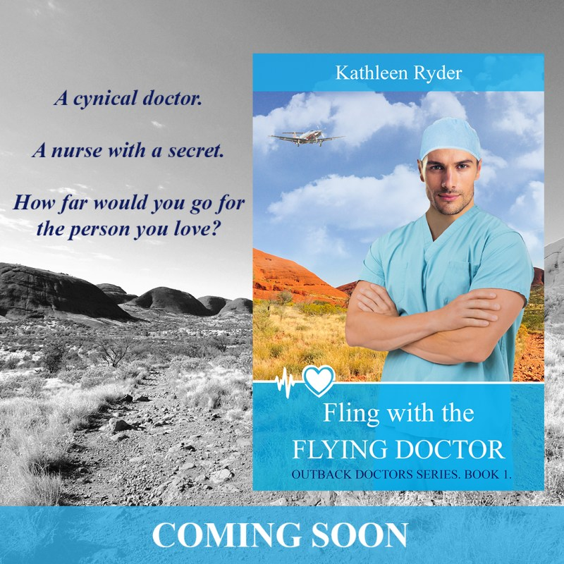 Cover Reveal – Fling With The Flying Doctor