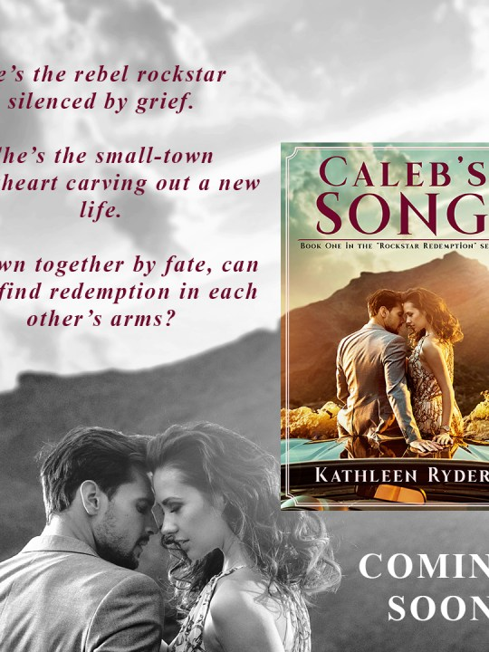 Caleb's Song Cover Reveal