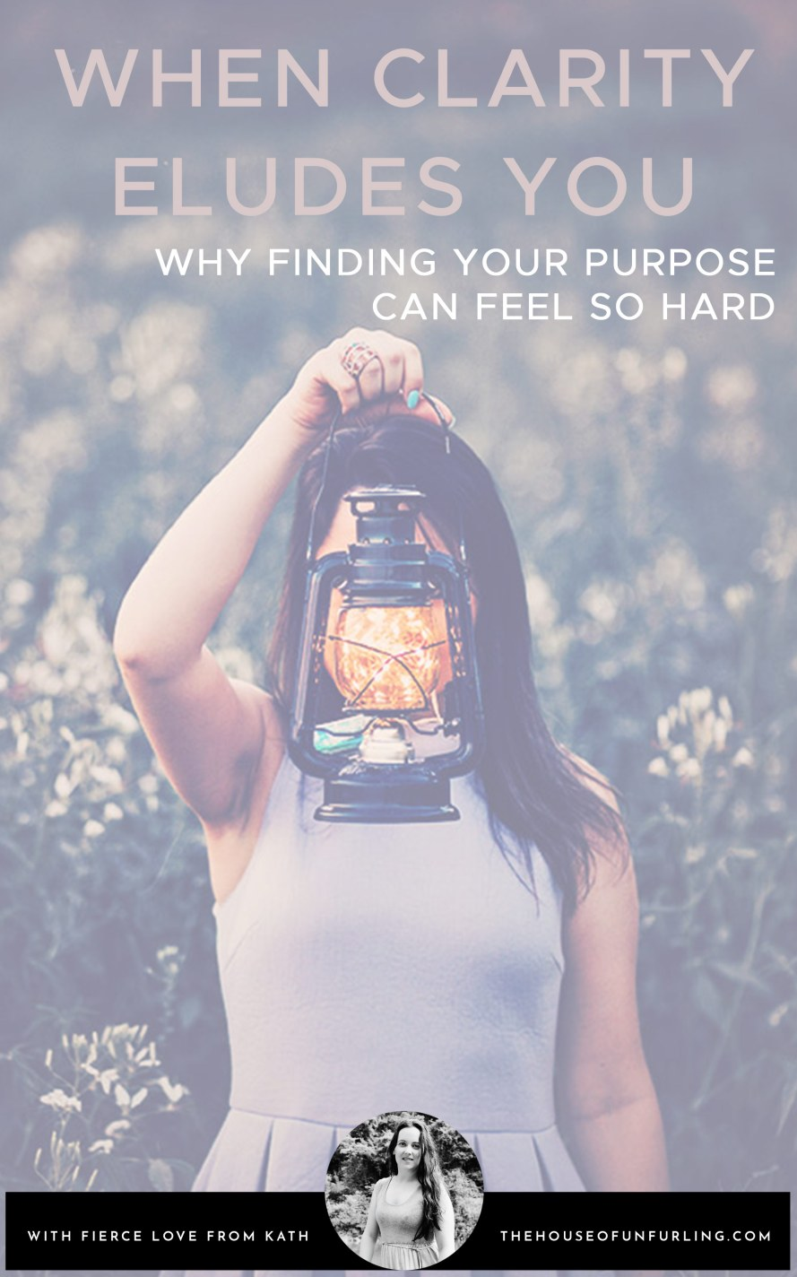 "CLICK THROUGH TO READ: Why it can feel so hard to find your purpose"" - From Purpose & Feminine Impact - kathleensaelens.com"