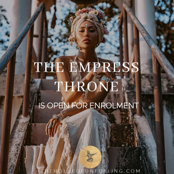 Welcome To The Empress Throne