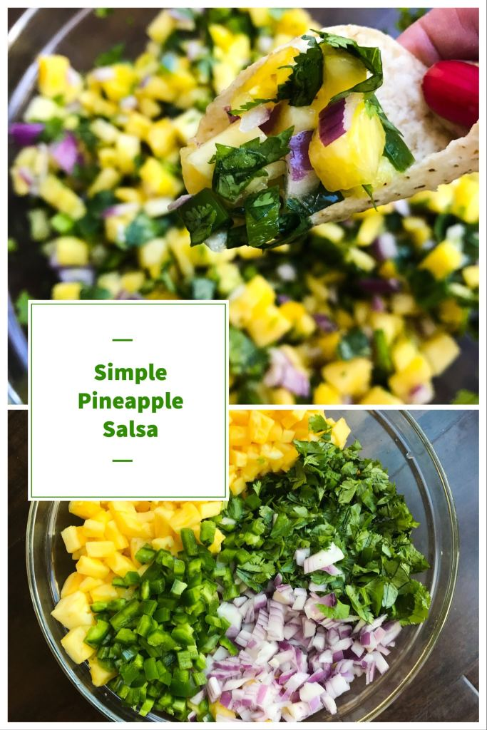 Refreshing and sweet with just the right amount of kick from the jalapeños. This salsa is big enough to feed a crows and is easy to whip up with just 6 ingredients. Perfect for your next fiesta.