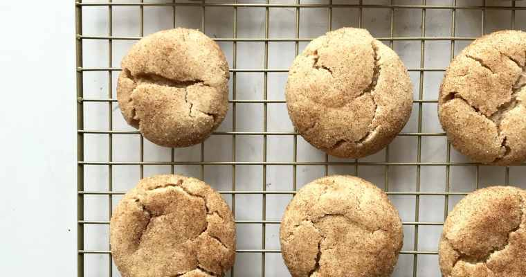 Extra Soft Snickerdoodles