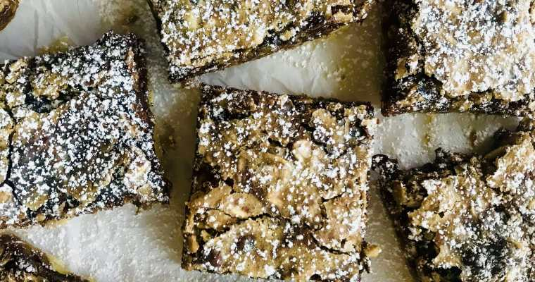 Gooey Chocolate Shortbread Bars