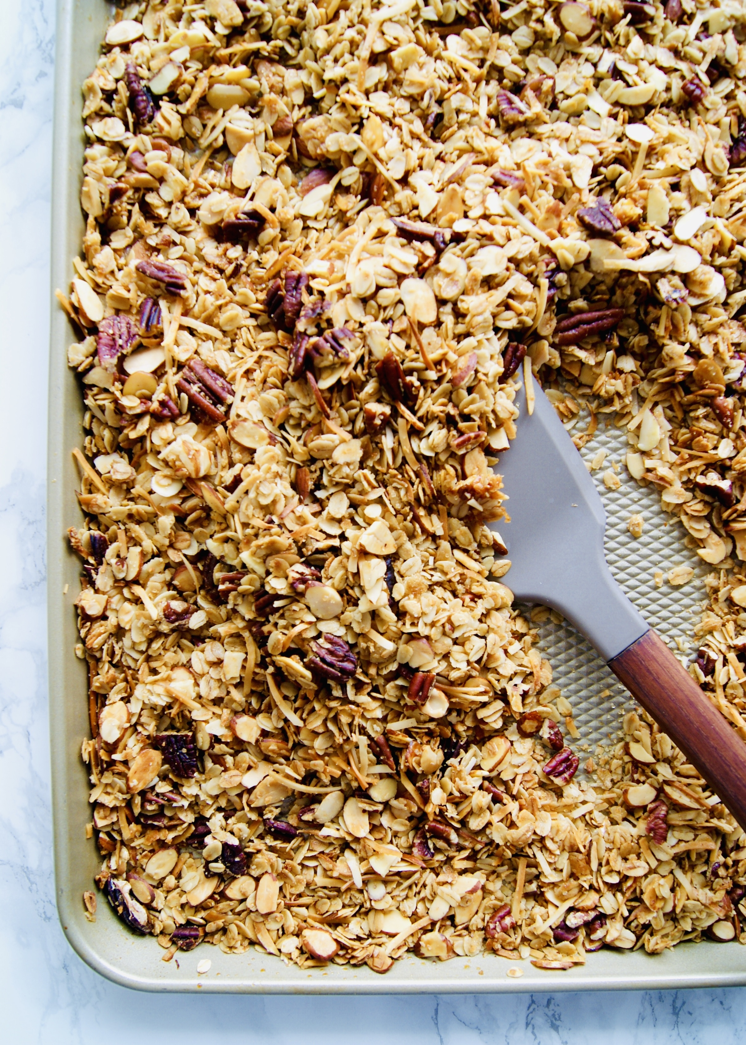 Easy Vanilla Maple Granola