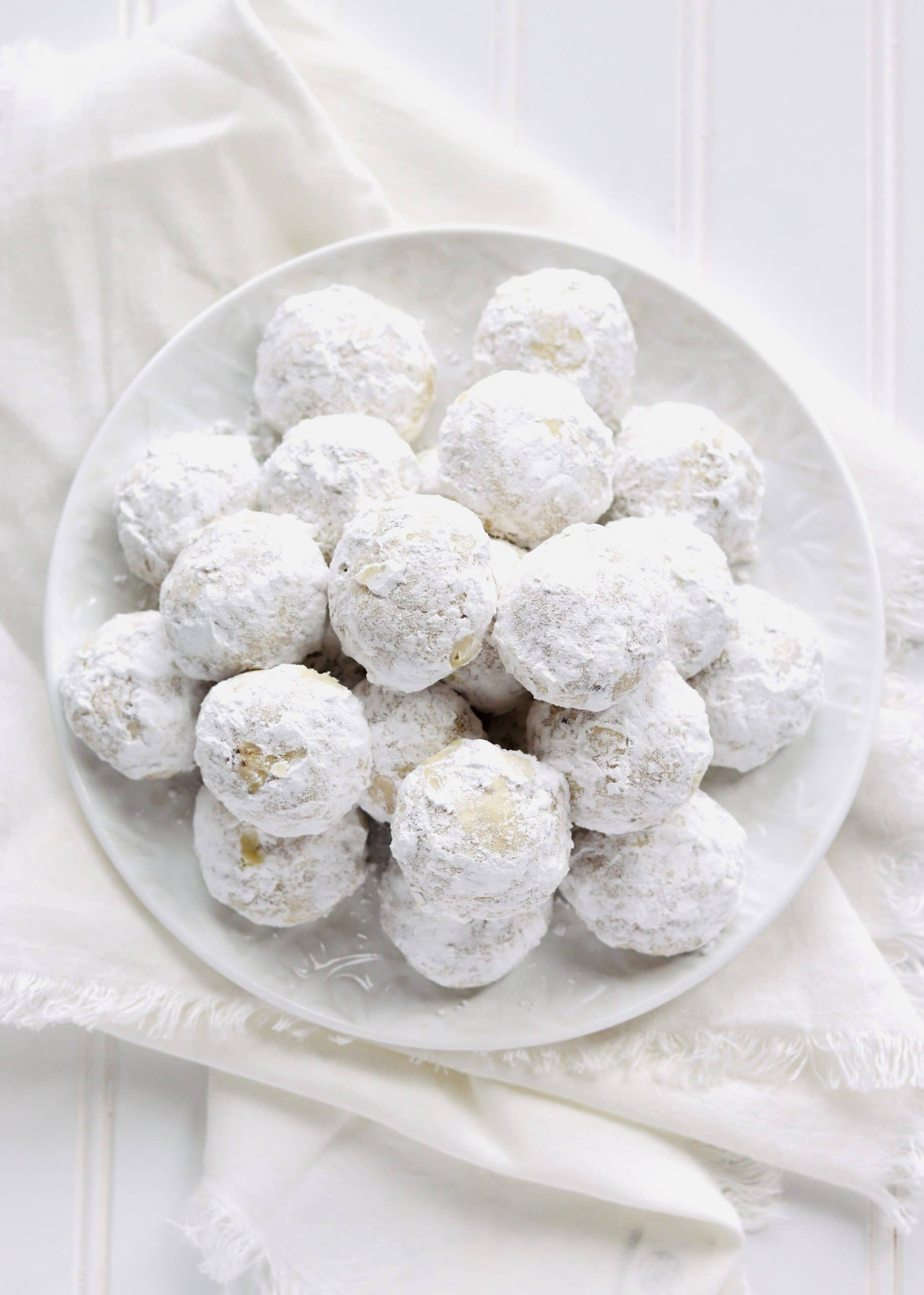Snowball Cookies with Pecans