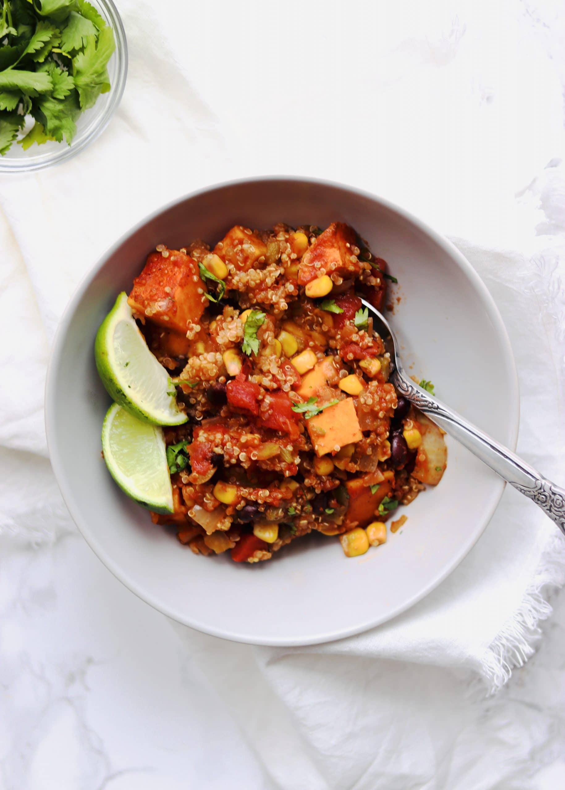 Vegan Mexican Quinoa Bake