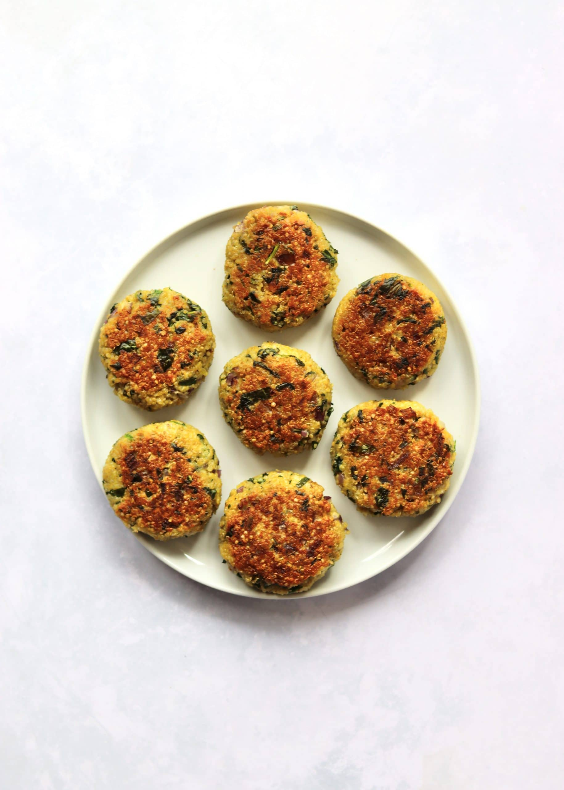 Crispy Quinoa Patties