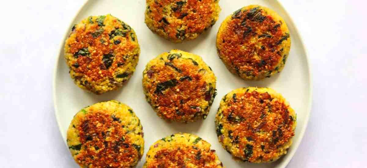 Crispy Quinoa Patties