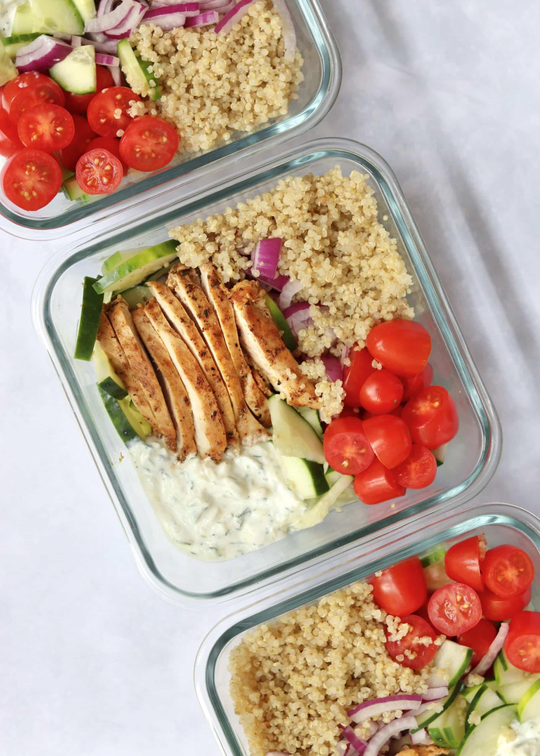 Greek Chicken Meal Prep
