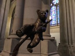 Bear in St John the Divine