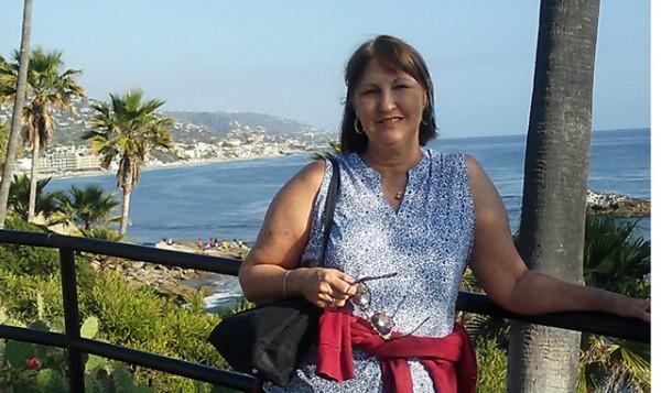 Kathleen Thoma at Laguna Beach