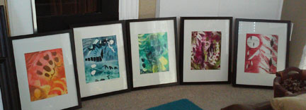 Framed 8x10's ready to go by Kathleen Thoma