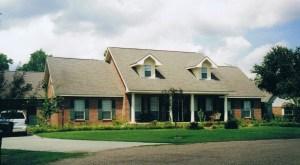 Het huis in Breaux Bridge, Louisiana