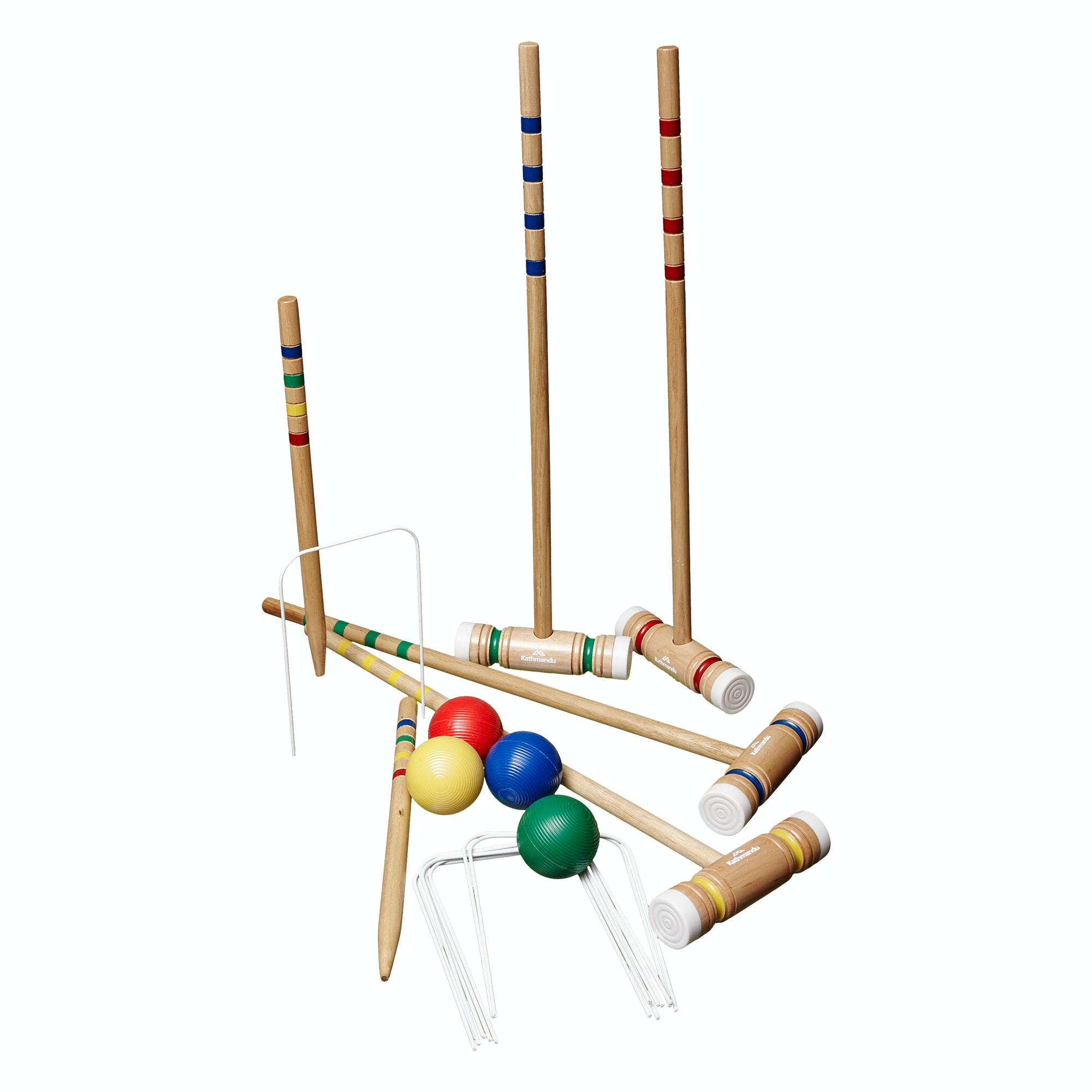 diagram of 6 wicket croquet window framing kathmandu 4 player wooden ball mallet wire hoop