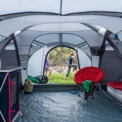 2 Person Camping Chair Desk Alternatives Retreat 320 6 Module Tent - Dark Navy/cloud