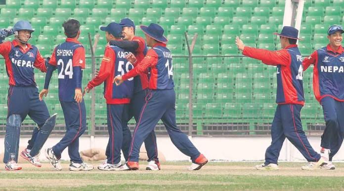 Nepal beats Namibia