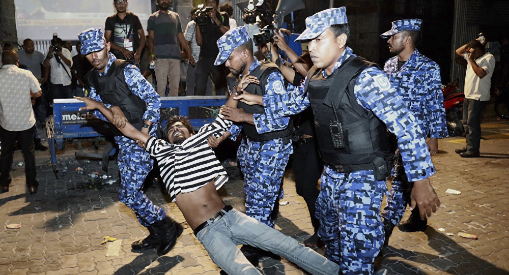 Maldives Crisis: Ex-Prez, judges 'attempting to overthrow the government'