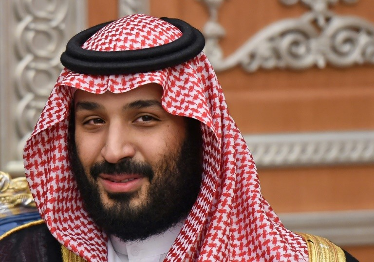 French President Macron tweets pictures in Paris with Mohammed bin Salman