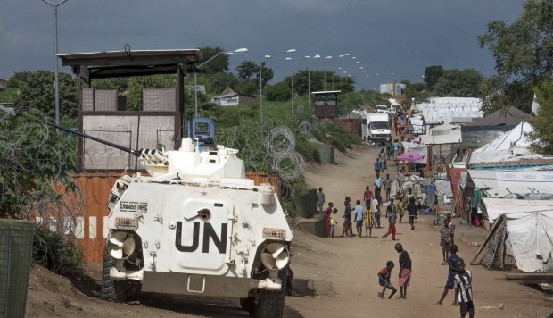 United Nations peacekeeper in S. Sudan accused of inappropriate touching